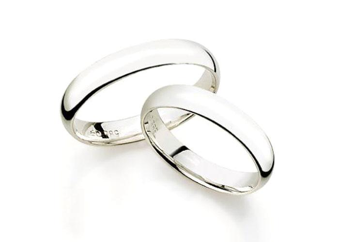 gifteringer i hvitt gull